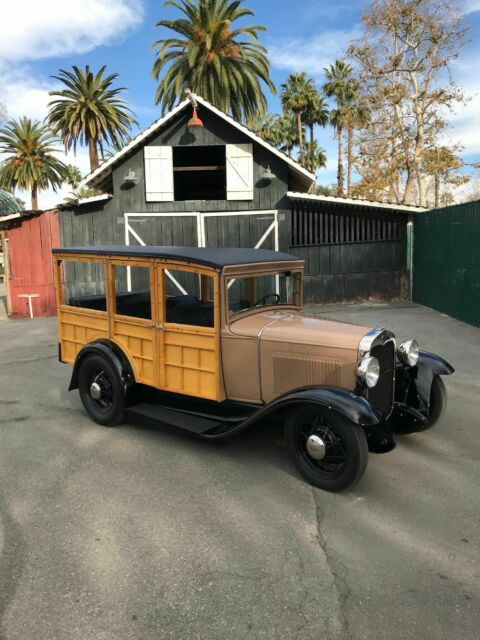1930 Ford Model A Woodie Woody