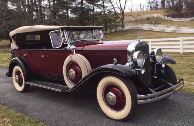 Hampstead Pre Owned >> 1930 LaSalle 340 Five-Passenger Fleetshire Phaeton by ...
