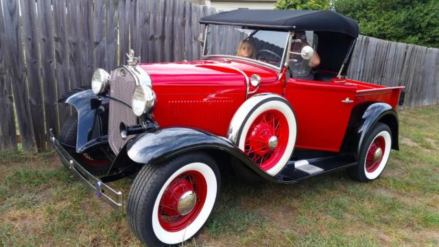 1930 Ford Model A Pickup Convertible