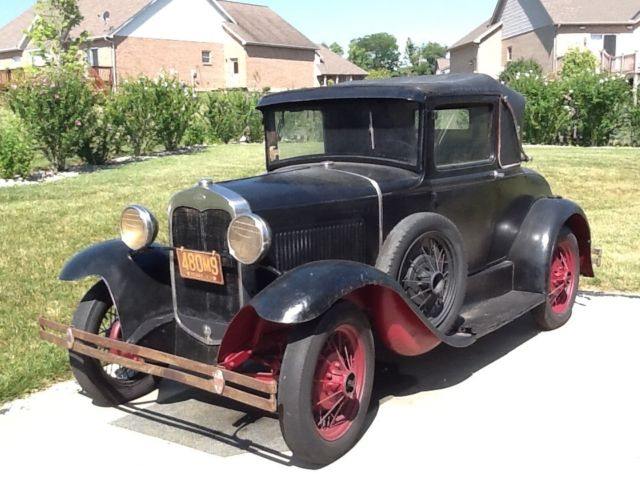 1930 model a ford sport coupe deluxe 6 wheel rumble seat luggage rack nice for sale photos. Black Bedroom Furniture Sets. Home Design Ideas