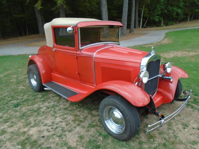 1930 Ford Model A SPORT COUPE