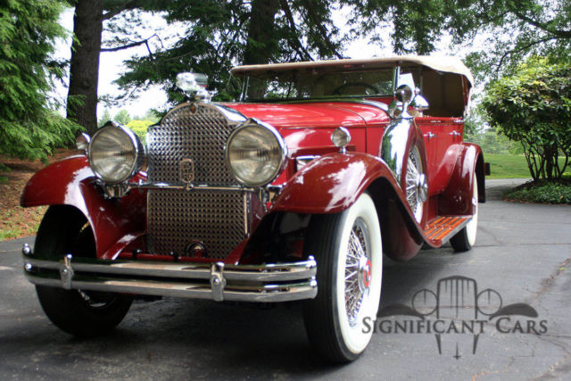 1930 packard 745 sport phaeton beautifully restored for sale photos technical. Black Bedroom Furniture Sets. Home Design Ideas