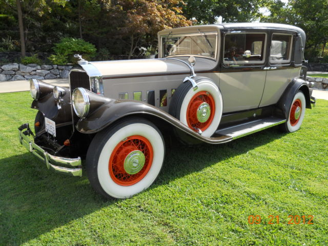 1930 Other Makes Pierce-Arrow Model B Club Sedan