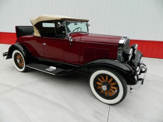 1930 Plymouth U-30 Roadster Rumble Seat