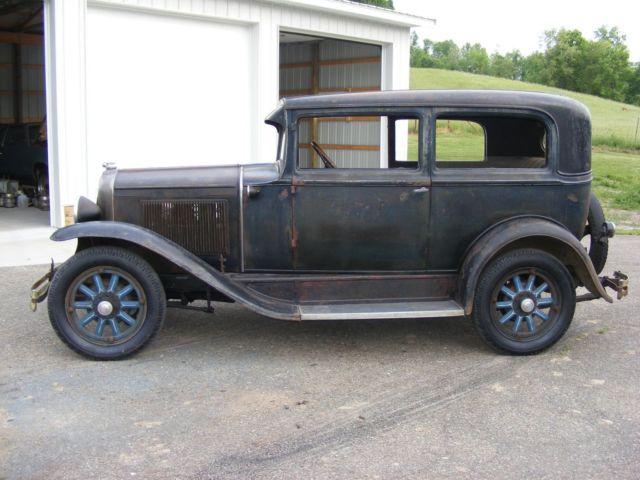 1930 pontiac 2dr sedan model a chevy original antique for 1930 pontiac 4 door sedan