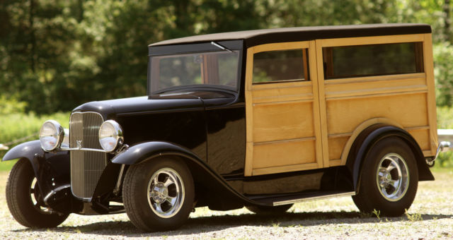 1930 Ford Model A Henry Ford Steel Woody Beach Wagon Hot Rod