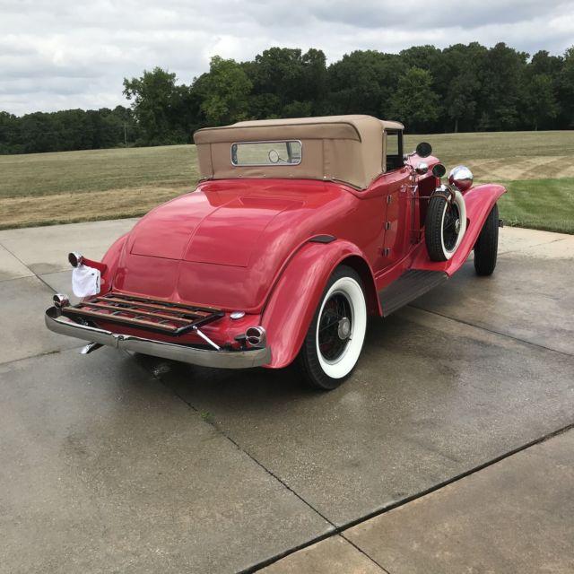 1931 Auburn 898A Convertible Cord Duesenberg For Sale