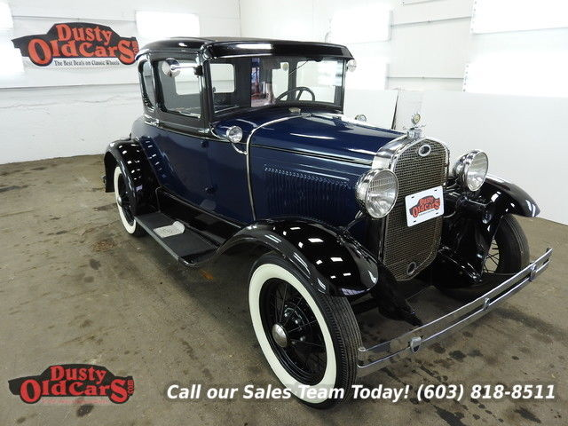 1931 Ford Model A Runs Drives Body Inter VGood 3.3L I4 3 spd