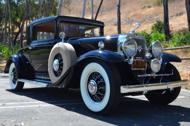 1931 Cadillac 370A 2 Door Rumble Seat Coupe