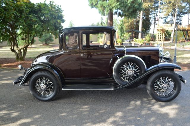 1931 Chevrolet Rumble seat Coupe Special order