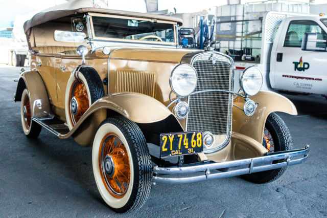 1931 Chevrolet AE-3 INDEPENDENCE PHAETON 5 PASSENGER CONVERTIBLE
