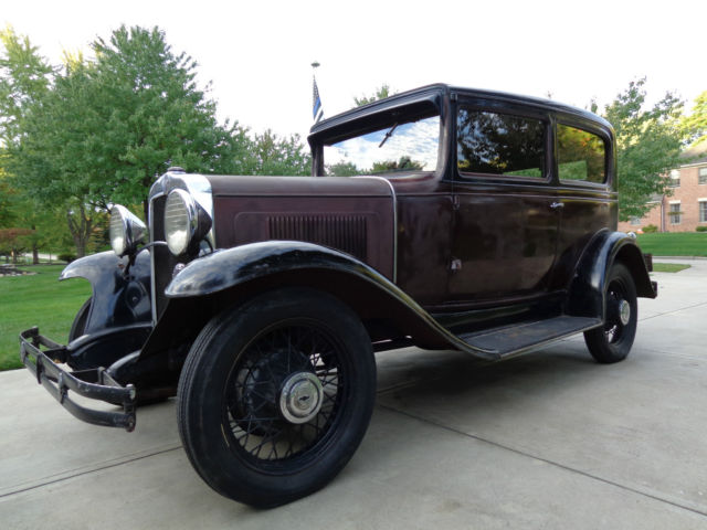 1931 Chevrolet Independence Coach