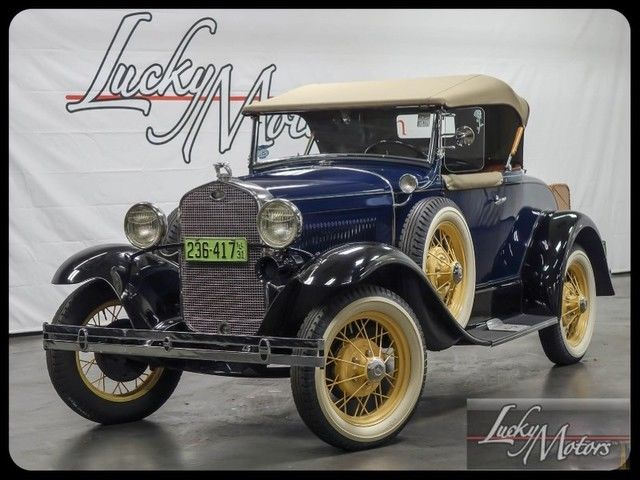 1931 Ford Model A Deluxe Roadster 4 Speed
