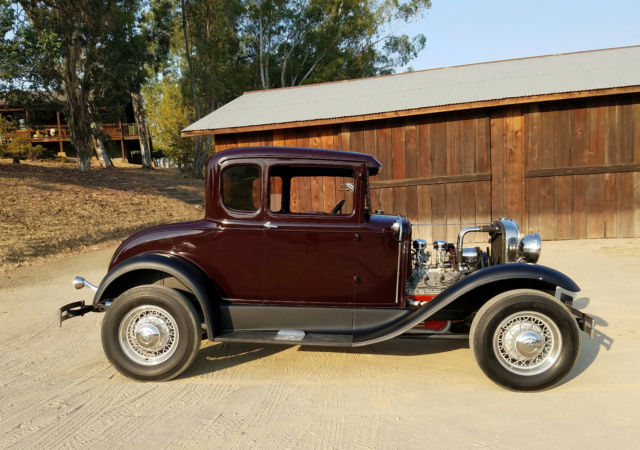 1931 ford model a 5 window coupe fresh all steel all for 1931 ford model a 5 window coupe