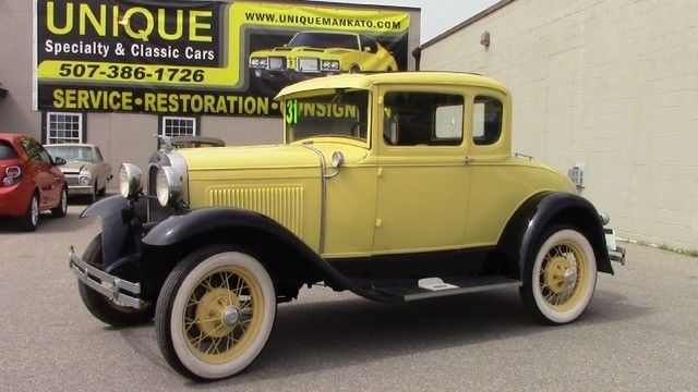 1931 Ford Model A 5 Window Rumble Seat
