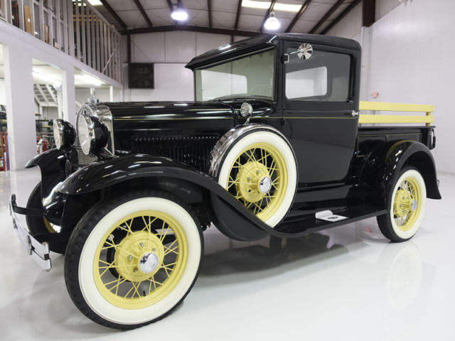 1931 Ford Model A Closed Cab Pickup, early '31 model! Gorgeous!
