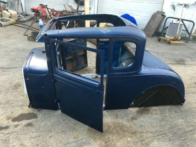 1931 ford model a coupe body rat hot street rod custom flathead steel look rare for sale photos. Black Bedroom Furniture Sets. Home Design Ideas