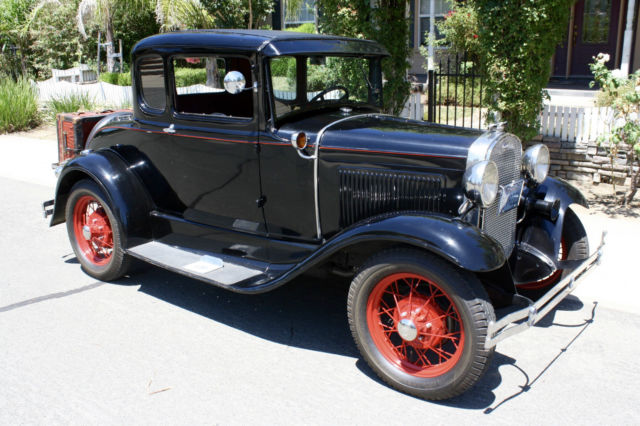 1931 Ford Model A Deluxe, Henry Ford Steel, Parade Car, Daily Driver