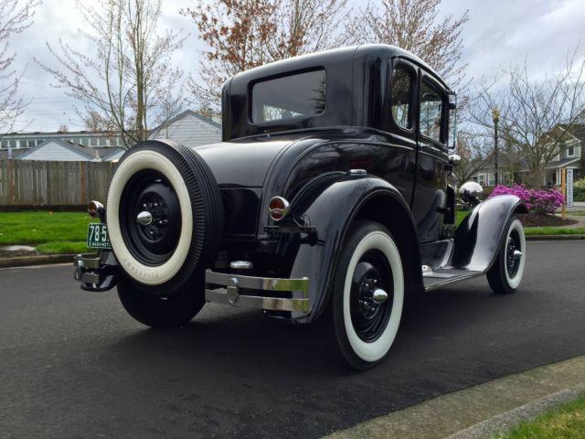 1931 ford model a deluxe like model t car tudor business rh topclassiccarsforsale com