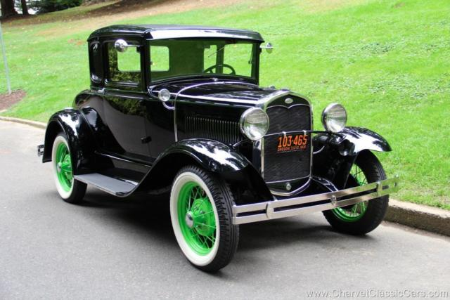 1931 Ford Model A Deluxe Rumble Seat Coupe. EXCEPTIONAL! See VIDEO