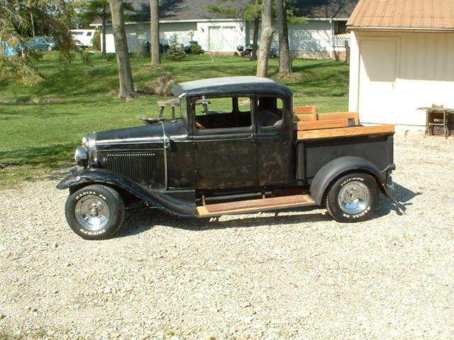Heavy Duty Truck For Sale Ohio >> 1931 Ford Model A Extended Cab 302 V/8 Hot Rat Street Rod Truck for sale: photos, technical ...
