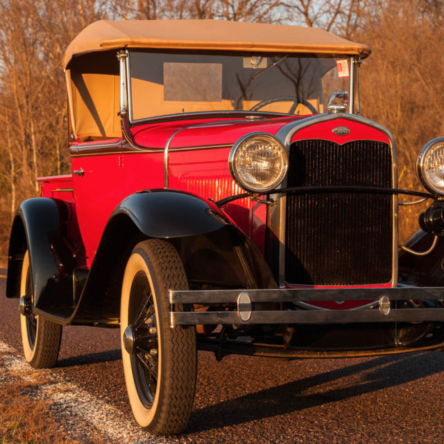 1931 Ford Model A Roadster Pick Up