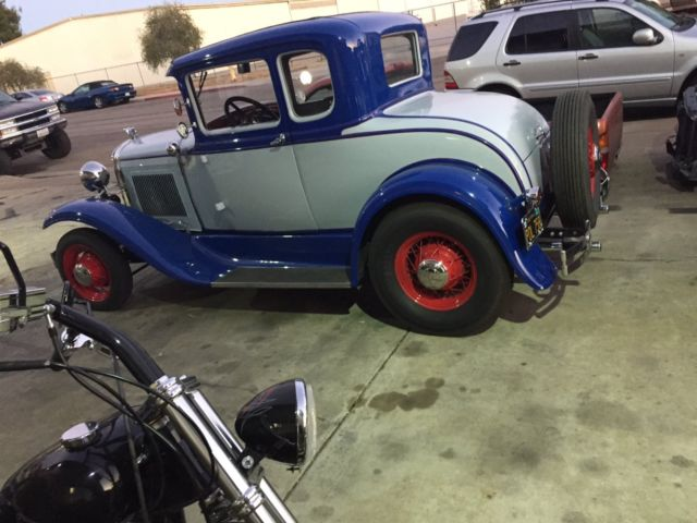 1931 Ford Model A Two Door Coupe