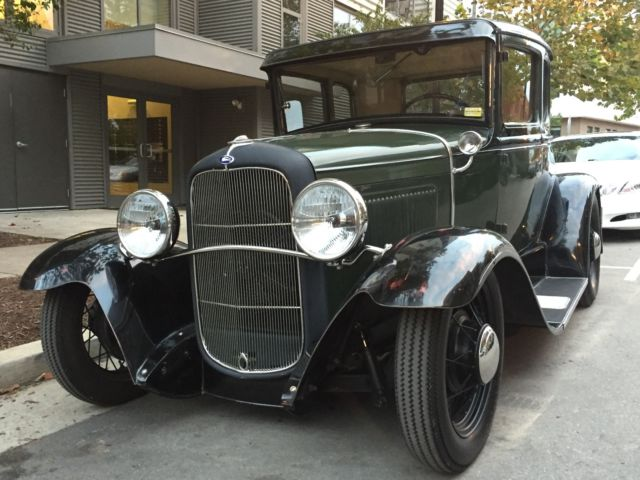 Ford Rumble Seat Coupe Flathead V Speed Traditional Hot Rod