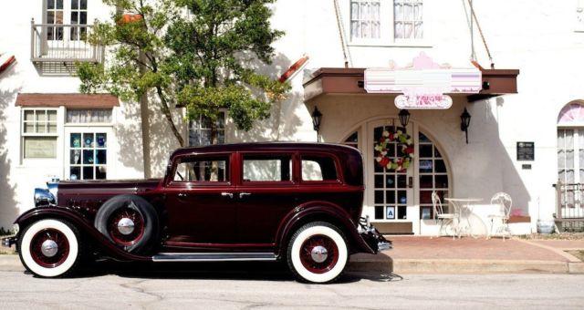 Factory Photo Ref. #53171 Picture 1931 Lincoln Brunn Four Door Sedan