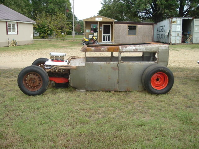 1931 Ford Model A hot rod-rat rod-project-big block chevy