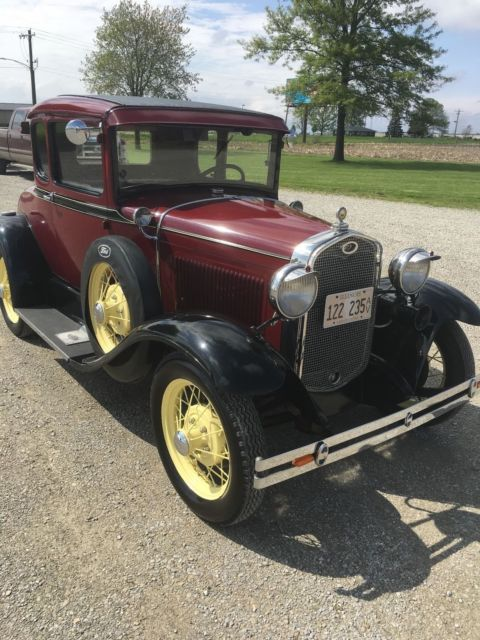 1931 Ford Model A Rumble Seat