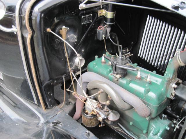 Model A Ford Tudor Sedan Late Indented Firewall