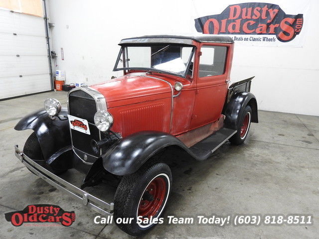 1931 Ford Model A Runs Drives Body Inter Good 3.3L I4