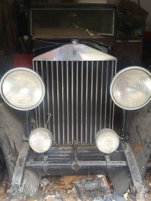 1931 Rolls-Royce Phantom Barn Find! Make Offer!