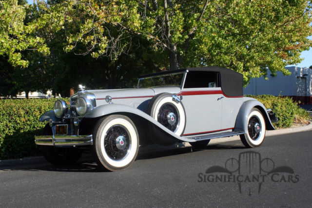1931 Other Makes Stutz DV-32 Convertible Victoria