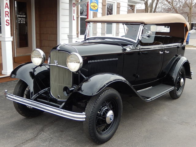1932 32 ford 4 door phaeton model 18 convertible older for 1932 ford four door