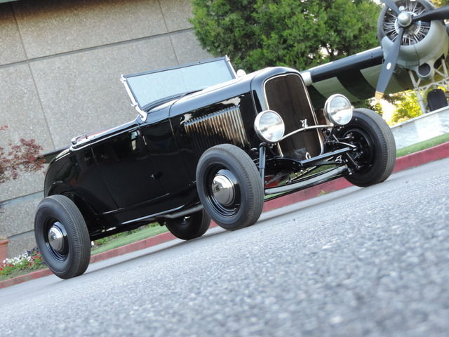 1932 Ford All Steel Highboy Roadster RUST FREE WEST COAST