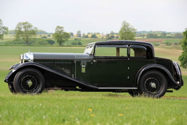 1932 Bentley 8 Litre 2 Door Short Chassis Coupe by Mayfair