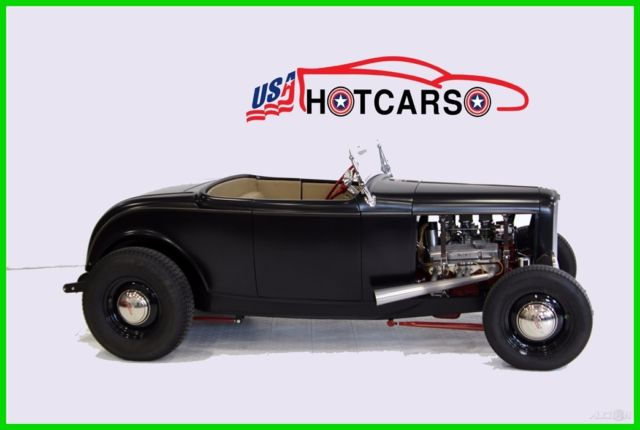 1932 Ford Roadster Black
