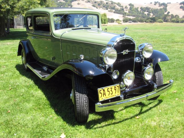 1932 Buick Victoria Travelers Coupe