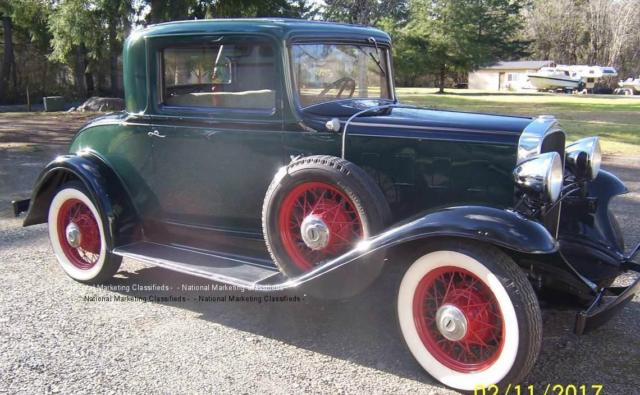 1932 Chevrolet Confederate Deluxe 3 Window for sale: photos