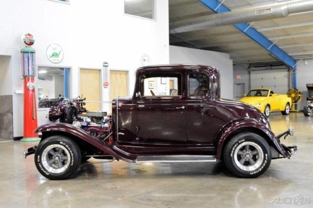 1932 chevrolet confederate steal body ba 2 door coupe 327 for 1932 chevy 2 door sedan