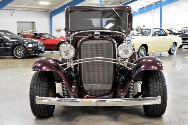 1932 chevrolet confederate steel body ba 2 door coupe 327 for 1932 chevy 2 door sedan
