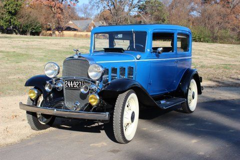1932 Chevrolet Series BA Confederate 2 Door