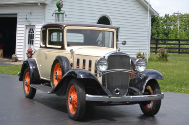 1932 Chevrolet rumble seat coup
