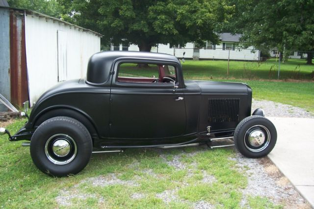 1932 Ford 3 Window Coupe Hot Rod Street Rod For Sale