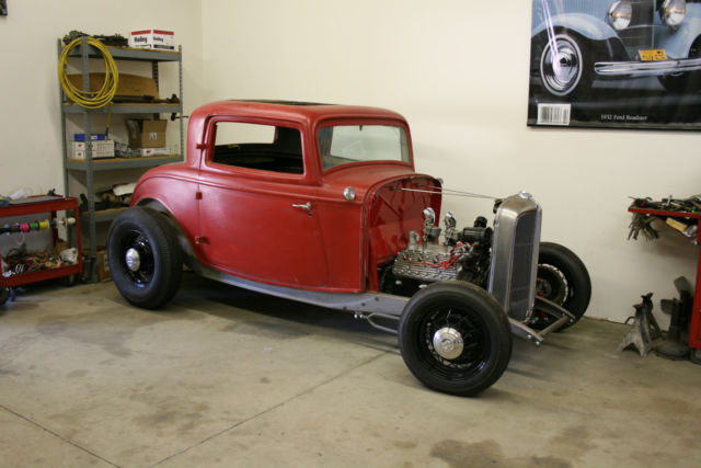 1932 ford 3 window coupe original steel body hot rod for 1932 ford three window coupe for sale