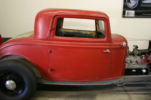 1932 ford 3 window coupe original steel body hot rod for 1933 ford 3 window coupe for sale