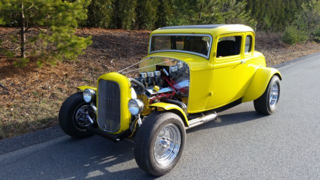 1932 ford 5 window coupe all steel american graffiti clone hot rod hotrod for sale photos. Black Bedroom Furniture Sets. Home Design Ideas
