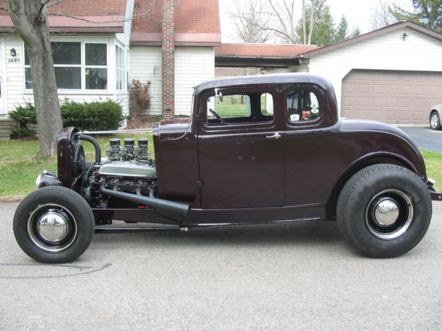 1932 ford 5 window coupe hot rod nailhead buick for sale for 1932 ford 5 window coupe